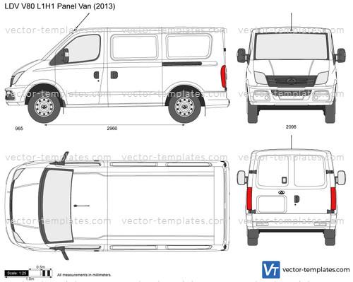 LDV V80 L1H1 Panel Van
