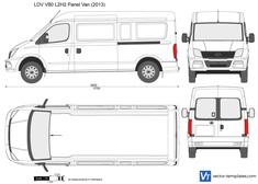 LDV V80 L2H2 Panel Van