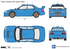 Subaru Impreza WRC gravel