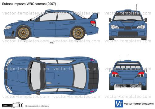 Subaru Impreza WRC tarmac