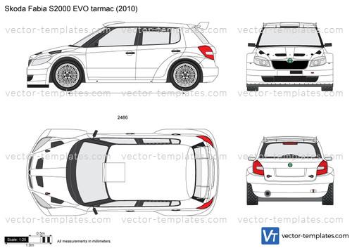 Skoda Fabia S2000 EVO tarmac