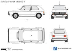 Volkswagen Golf GTI rally Group 2