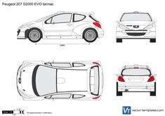 Peugeot 207 S2000 EVO tarmac
