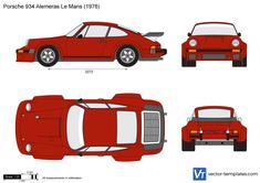 Porsche 934 Alemeras Le Mans