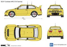 SEAT Cordoba WRC EVO tarmac