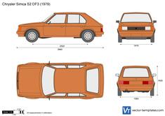 Chrysler Simca S2 DF3