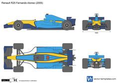 Renault R25 Fernando Alonso