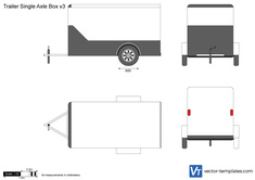 Trailer Single Axle Box v3