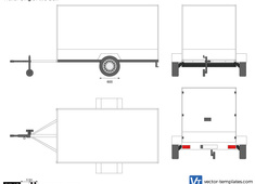 Trailer Single Axle Box