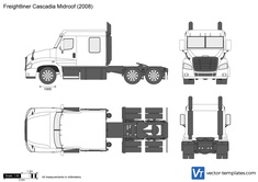 Freightliner Cascadia Midroof