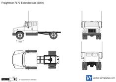 Freightliner FL70 Extended cab