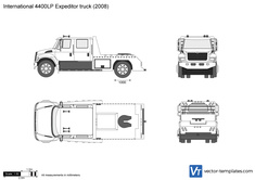 International 4400LP Expeditor truck