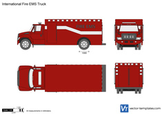 International Fire EMS Truck
