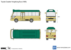 Toyota Coaster HongKong Bus