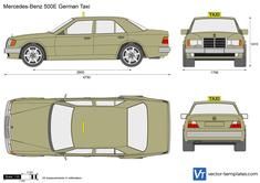 Mercedes-Benz 500E German Taxi