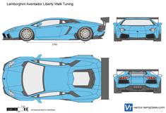 Lamborghini Aventador Liberty Walk Tuning