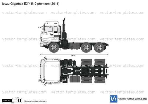 Isuzu Gigamax EXY 510 premium