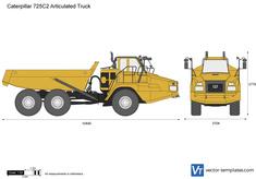 Caterpillar 725C2 Articulated Truck