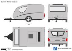 Sunbird Hybrid Caravan
