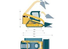 Caterpillar 239D Compact Track Loader