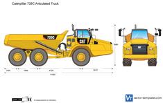 Caterpillar 735C Articulated Truck