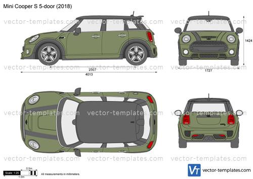 Mini Cooper S 5-door F55