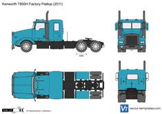 Kenworth T800H Factory Flattop