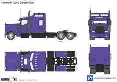 Kenworth W900 Sleeper Cab