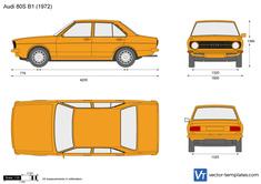 Audi 80S B1