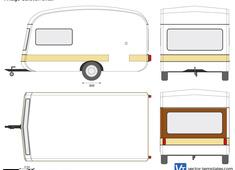 Vintage Caravan small