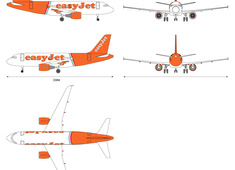 Airbus A319-100 EasyJet (Special Milan Linate)