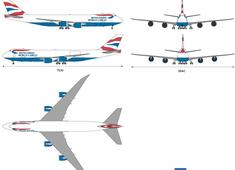Boeing 747-8F British Airways World Cargo
