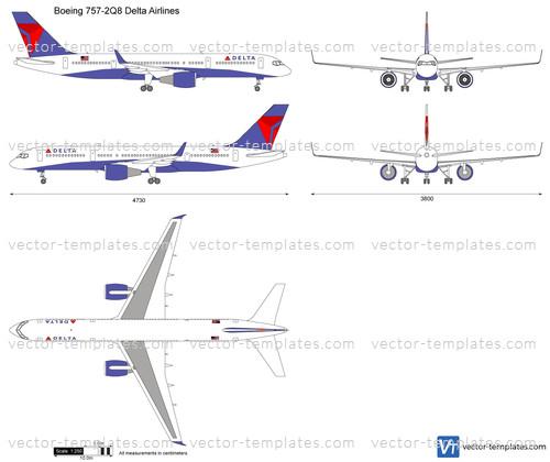 Boeing 757-2Q8 Delta Airlines