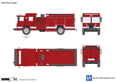 US Fire Truck