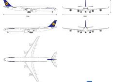 Airbus A340-600 Lufthansa