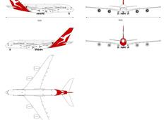 Airbus A380-842 VH-OQF Qantas