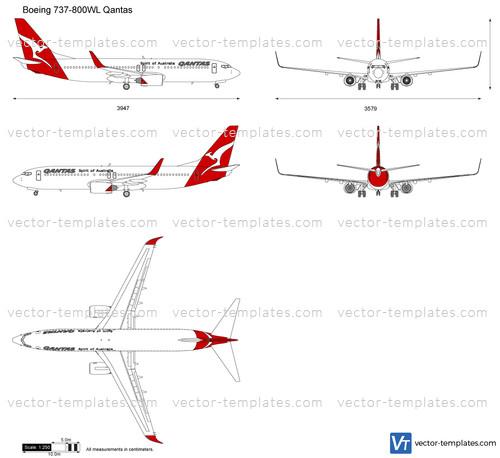 Boeing 737-800WL Qantas