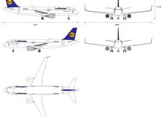 Airbus A320-200 Sharklets Lufthansa