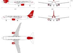 Airbus A320-200 Virgin Atlantic Little Red