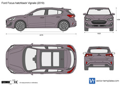 Ford Focus hatchback Vignale