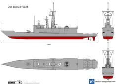 USS Boone FFG-28