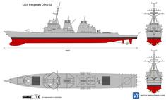 USS Fitzgerald DDG-62