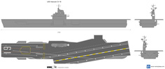 USS Hancock CV-19