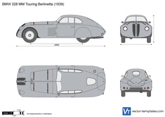 BMW 328 MM Touring Berlinetta