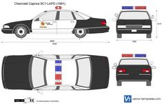 Chevrolet Caprice 9C1 LAPD Police