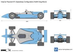 IndyCar Reynard 97i (Speedway Configuration) No99 Greg Moore