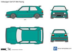 Volkswagen Golf GTI MkII Racing
