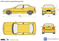 BMW 3-Series Compact Motorsport E36