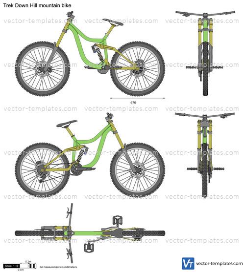 Trek Down Hill mountain bike