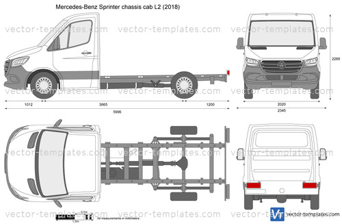 Mercedes-Benz Sprinter chassis cab L2